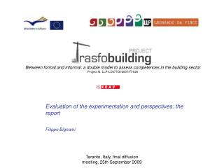 Between formal and informal: a double model to assess competences in the building sector