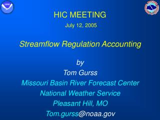 HIC MEETING July 12, 2005