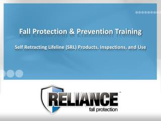 Fall Protection & Prevention Training