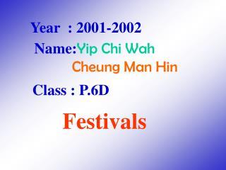Year  : 2001-2002