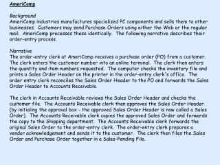 Purchase Order P.O.