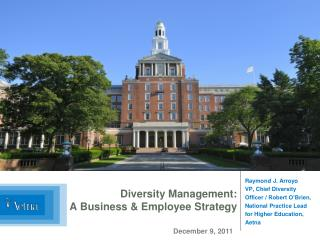 Diversity Management:  A Business & Employee Strategy