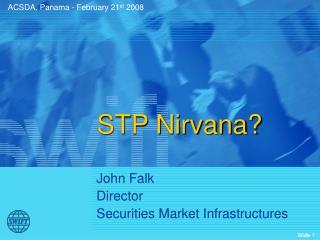 STP Nirvana?