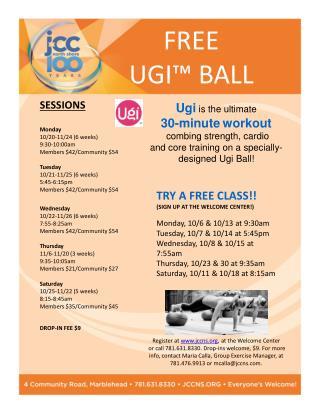 FREE  UGI™ BALL
