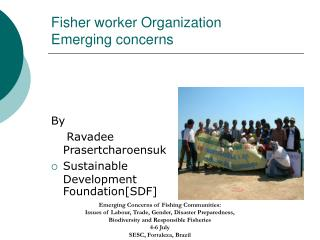 Fisher worker Organization Emerging concerns