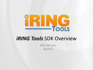 iRING Tools  SDK Overview
