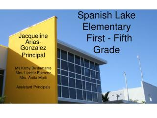 Spanish Lake Elementary   First - Fifth Grade