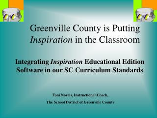 Greenville County is Putting Inspiration in the Classroom