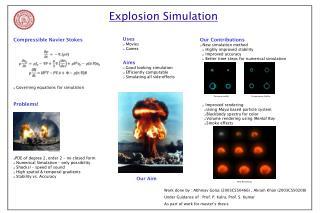 Explosion Simulation
