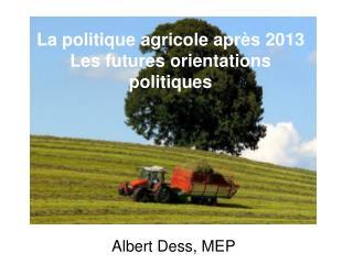 Albert Dess, MEP