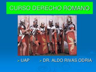 CURSO DERECHO ROMANO
