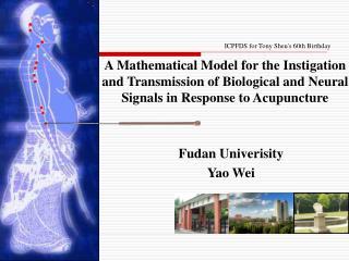 Fudan Univerisity Yao Wei