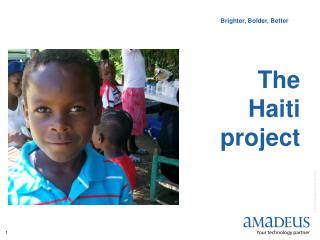 The  Haiti  project