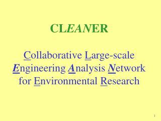CLEANER Vision