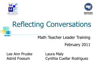 Reflecting Conversations