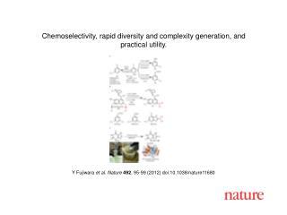 Y Fujiwara  et al.  Nature 492 ,  95-99  (2012) doi:10.1038/nature 11680