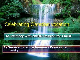Celebrating Claretian vocation