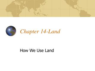 Chapter 14-Land
