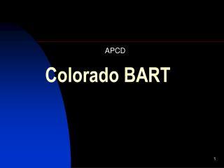 Colorado BART