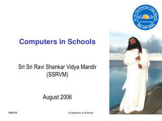 Computers in Schools