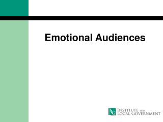 Emotional Audiences