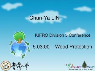 IUFRO Division 5 Conference