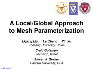 A Local/Global Approach to Mesh Parameterization