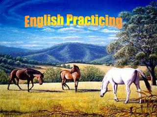 English Practicing