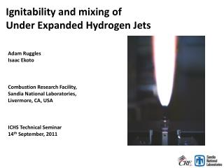 Ignitability and mixing of  Under Expanded Hydrogen Jets