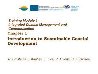 Training Module 1 Integrated Coastal Management and Communication