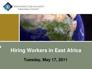 Hiring Workers in East Africa