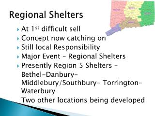 Regional Shelters