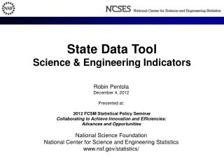 State Data Tool Science & Engineering Indicators
