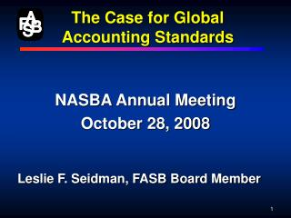 The Case for Global Accounting Standards