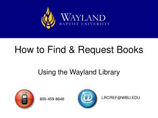 How to Find & Request Books