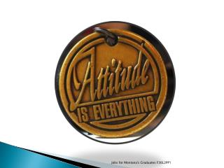 Attitude Toward Yourself