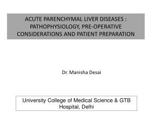 University College of Medical Science & GTB Hospital, Delhi