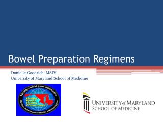 Bowel Preparation Regimens