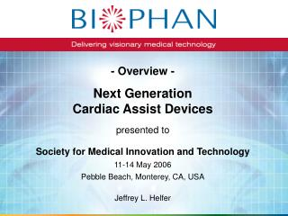 Next Generation Cardiac Assist Devices