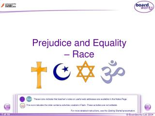 Prejudice and Equality – Race