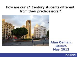 Alan Osman,  Beirut,  May 2013