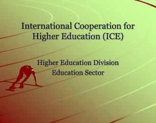 International Cooperation for Higher Education (ICE)