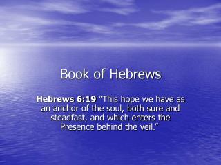 Book of Hebrews
