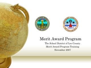 Merit Award Program