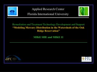 Applied Research Center Florida International University