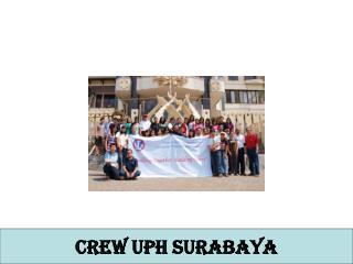 CREW UPH SURABAYA