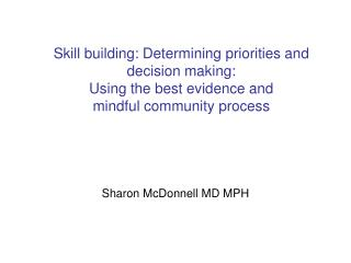Sharon McDonnell MD MPH