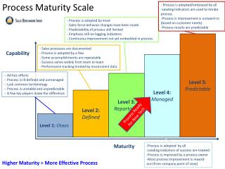 Process Maturity Scale