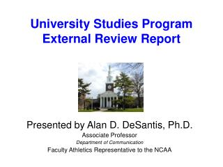 University Studies Program External Review Report