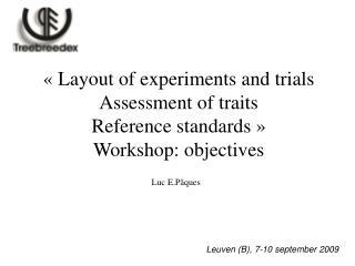 Leuven (B), 7-10 september 2009